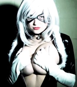 Tessa Fowler As Black Cat