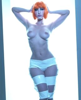 Topless LeeLoo From The 5th Element By Carlotta Champagne