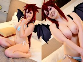 Topless Mari Setogaya By Kiki Rose Cosplay