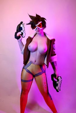 Tracer By Jessica Luna Cosplay