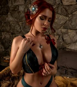 Triss From The Witcher, By Irene Meier