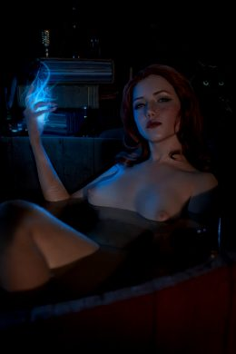 Triss Merigold From Witcher By Lada Lyumos