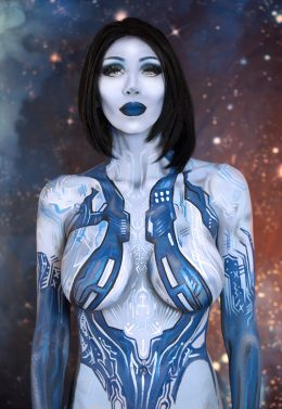 Twitch Partner Intraventus As Cortana From Halo