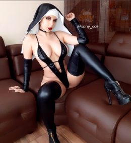 Unholy Nun By Sony_cos