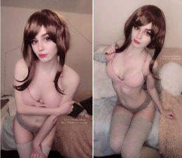 Uraraka And Her Tights! By Kanra_cosplay