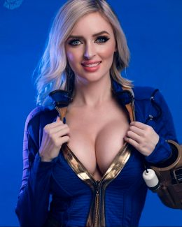 Vault Dweller From Fallout By Kristen Lanae Cosplay