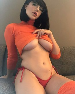 Velma From Scoobdy-Doo Has Grown In All The Right Places By Sabrina Nichole