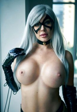 Veronika Black As Black Cat