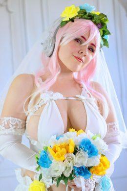 Wedding Super Sonico By Simrell