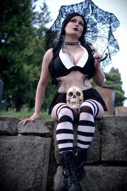 Wednesday Addams By Captive Cosplay