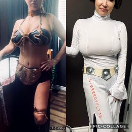 Wifey As Leia , Which Version Do You Like?
