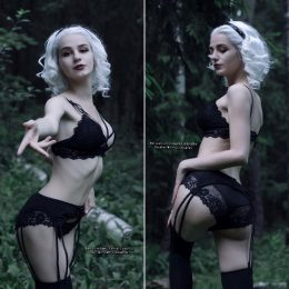 Will You Follow Me To Lupercalia? Sabrina By Kanra_cosplay