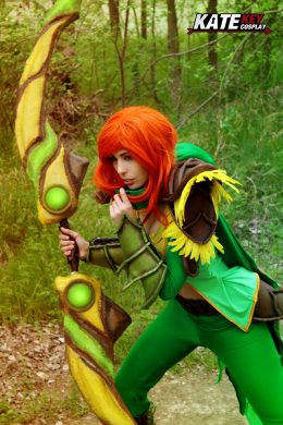 Windranger From Dota 2 By Kate Key Cosplay