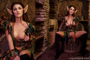 WOW Cosplay – Night Elf – By Katy Rose