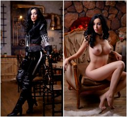 Yenifer Cosplay On/Off By Lera Himera