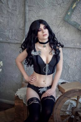 Yennefer Cosplay From Witcher 3 By DungeonQueen