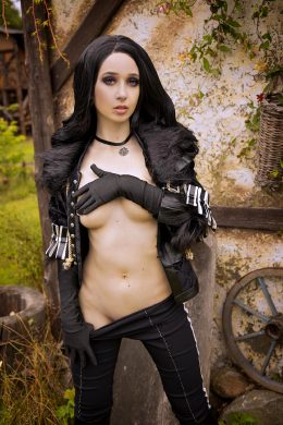 Yennefer From Witcher 3 Implied Nude By Gumihohannya