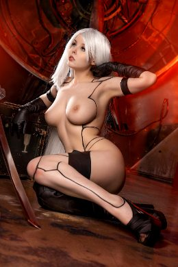 YoRHa Type A No.2 Cosplay By Helly Valentine