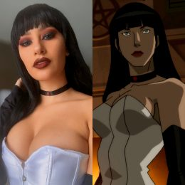 Zatanna From Justice League Dark By Mo.ns.e