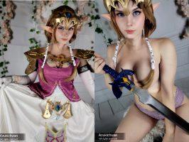 Zelda From The Legend Of Zelda : Twilight Princess By Azukichwan