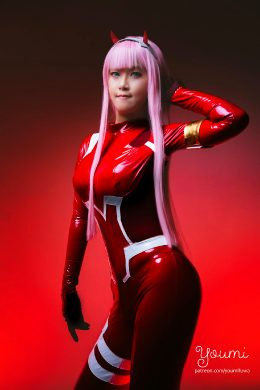 ZeroTwo From From Darling In The Franxx By Youmi